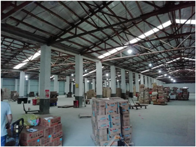 Armazém ou centro de logística